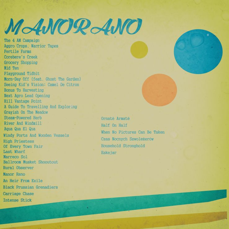 Marquis De Morning - Manorano Cover Back